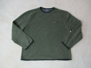 Spell Sweater Polo Green Adult Large Details Black Out Sport Lauren Vintage Ralph 90s About 67gfYby