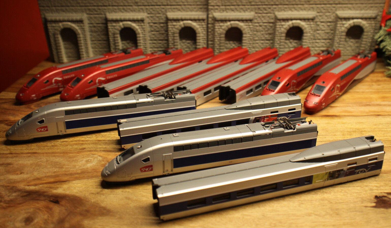 (I14)   Märklin 37791 37790 TGV SNCF CUSTODIA NUOVO completo top Pezzo di