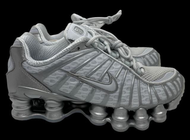 Nike Shox TL Pure Platinum AR3566-003 Mens Classic