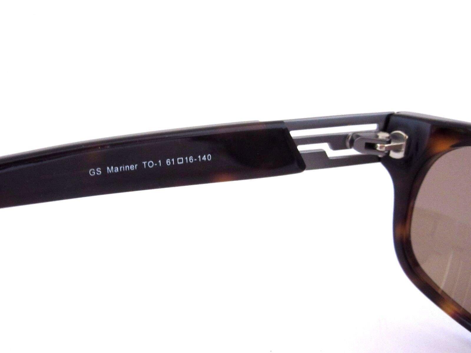5e4d43494 GANT GS Mariner To-1 61-16-140 Sunglasses for Men Tortoise Authentic NOS  for sale online | eBay