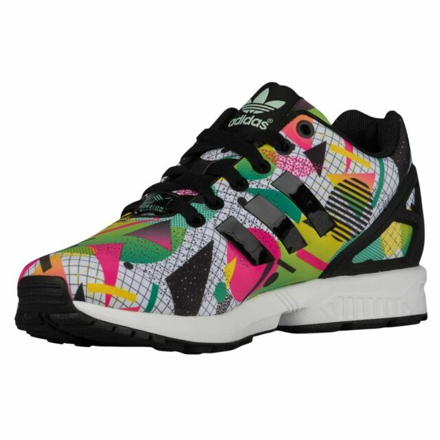 best loved 4409d e0a56 nib~Adidas ZX FLUX AOP Torsion Running 8000 Boost gym Energy Shoes~Womens  sz 8.5