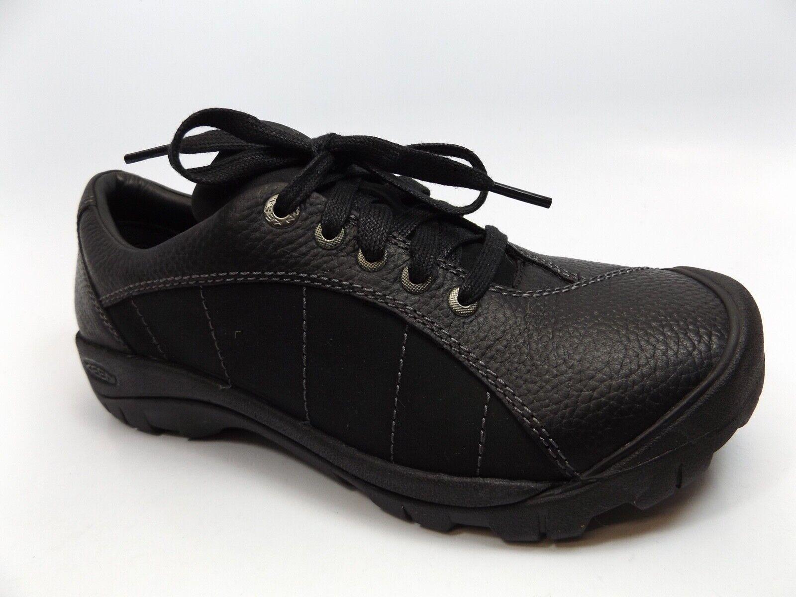 Keen Santa Fe Oxford Trabajo Zapatos Seguridad CSA aprobado para mujer M, Negro  287