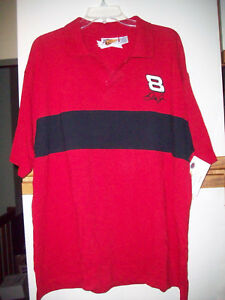 NEW-DALE-EARNHARDT-JR-Bud-Racing-Embroidered-Winner-039-s-Circle-POLO-GOLF-Shirt-2XL