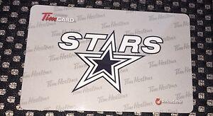 2016 Tim Hortons Gift Card Battleford North Stars Battlefords SJHL