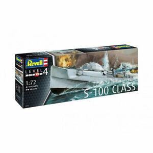 REVELL-German-Fast-Attack-Craft-S-100-1-72-Boat-Model-Kit-05162