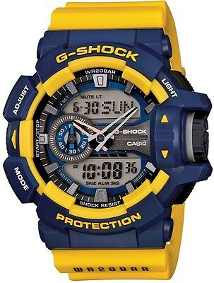 New CASIO G-SHOCK GA-400-9BJF Men`s Watch GA400-9B  From JAPAN