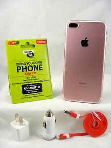 Details about Apple iPhone 7 Plus - 32GB - Gold (Verizon/Straight talk 4G  LTE Nano SIM card)