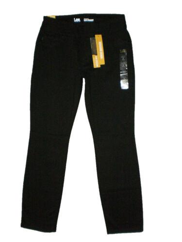 LEE Women/'s Petite Slimming Fit Rebound Straight Leg Pull On Jean New $44