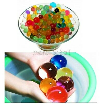 200-100000ORBEEZ 7 COLOURS GIFT WATER BEADS PARTY MAGIC BALLS DECOR CRYSTAL SPA