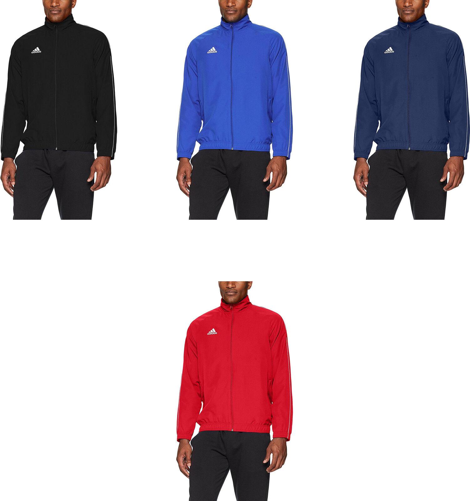 509690ce2f5e adidas Mens Soccer Core18 Presentation Jacket