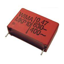 2 WIMA Impulsfester Polypropylen Kondensator MKP10 630V 0,47uF 27,5mm 089746