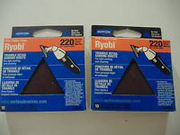 Twenty Triangle Sanding Sheets 220grit Fits Ryobi Made In Usa