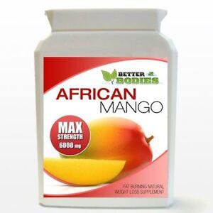 90-Mango-Africano-Fuerza-Max-6000-mg-Max-Fuerte-Adelgazar-Dieta-Botella