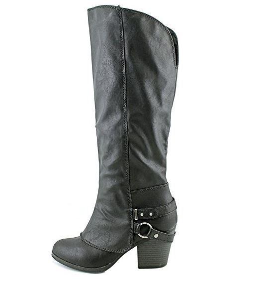 American Rag donna Eboni Closed Toe Mid-Calf Riding stivali, nero, Dimensione 10.0