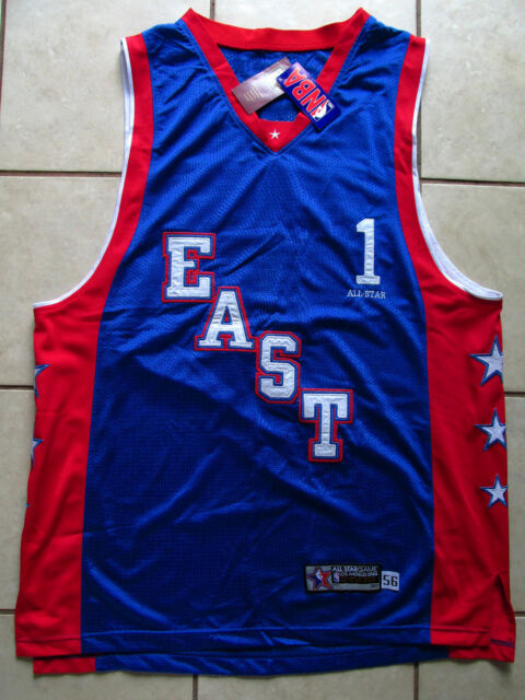 VTG TRACY McGRADY NBA ALL STAR 2004 REEBOK AUTHENTIC JERSEY SIZE 56 SEWN NWT a428dc495