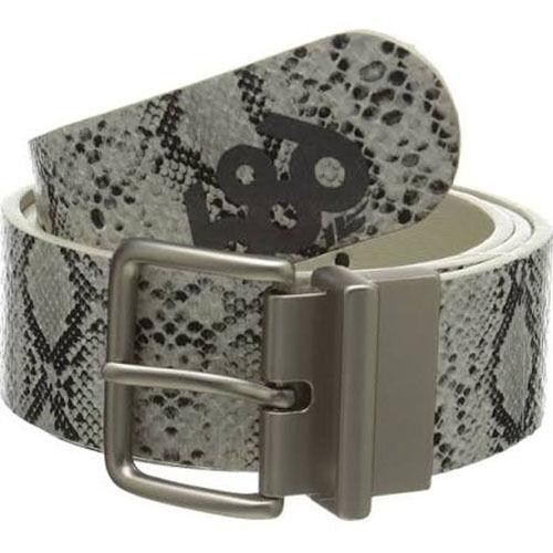 Brown Python ***** L//XL 686 Women Lynx Reversible Belt