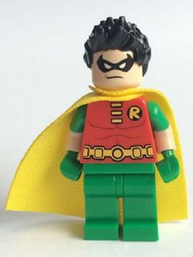 LEGO 76035 - Batman - Robin   Spiky Hair - MINI FIG   MINI FIGURE