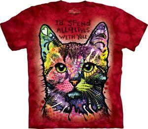T Adult Mountain Cat Shirt 9 Pet Lives Russo The Unisex pwvExqTw8