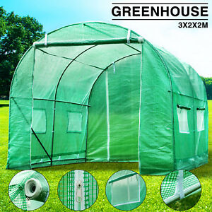 BN-3M-X-2M-Fully-Galvanised-Steel-Frame-Poly-Tunnel-Greenhouse-Polytunnel-Tunnel