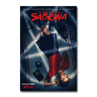 Chilling Adventures of Sabrina Silk Poster Movie Canvas Wall Art Print Picture