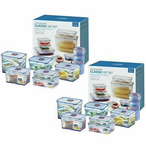 Lock & Lock 16 Piece Classic Plastic Airtight Food Storage Containers 16pc