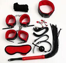 8pcs-Sex-Toy-SM-Set-Bondage-Restraints-Kit-Leather-Cuffs-Whip-Gag-Fetish-Cosplay