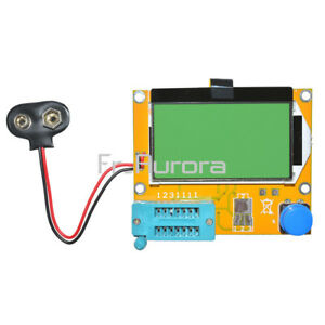 LCR-T4-ESR-Meter-Transistor-Tester-Diode-Capacitance-Acrylic-Case-Shell-Housing