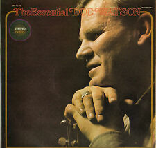 """DOC WATSON """"THE ESSENTIAL"""" COUNTRY FOLK 70'S DOUBLE LP VANGUARD 45/46"""