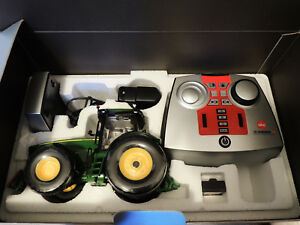 Siku-control-32-John-Deere-8345r-juego-completo-6772-71-como-nuevo-RC-modelo-coleccionista