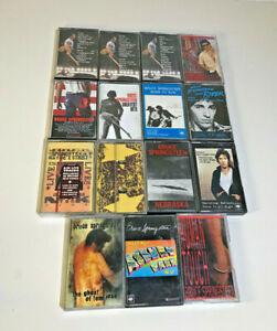 Bruce-Springsteen-Job-Lot-15-Cassette-Tapes-Born-in-USA-Live-1975-85-L-K