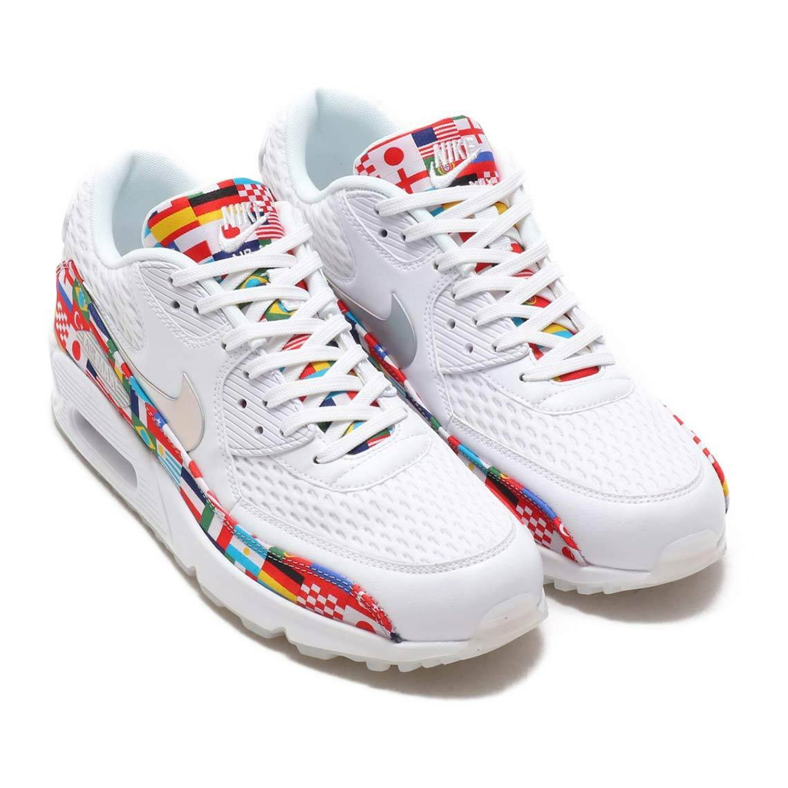 Nike Air Max 90 NIC Pack QS AO5119 100 World Cup International Ship Now