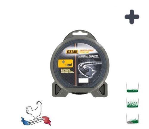 energie Sehr Massiv Draht Nylon pro Helicoidale Motorsense Twisted