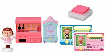 Animal Crossing New Leaf Girl and the Furniture Figure Stamp Set