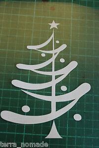 Christmas-Tree-Wall-Window-Stickers-Vinyl-Decal-Decorations-XMAS-SANTA