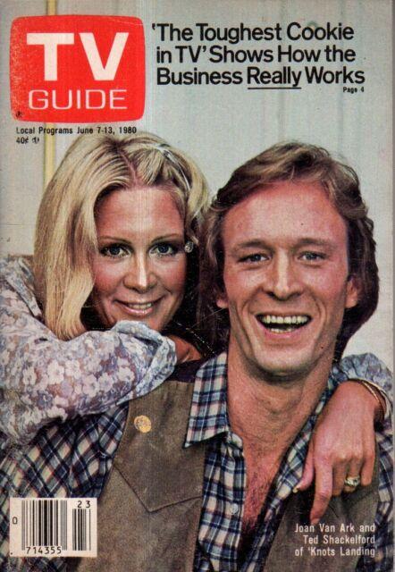 1980 TV Guide June 7 -Bettina Gregfory - ABC News;Luciano Pavarotti,Loretta Lynn