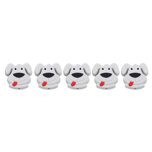 Food Grade Silicone Puppy Beads Tooth Glue Beads DIY Jewelry Accessory Z