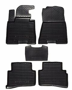 Rubber Car Floor Mats Carpet Liners For Kia Sportage 2016