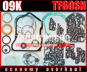 Overhaul TF60SN Volkswagen TRANSPORTER T5 Gearbox seal and gasket 09K