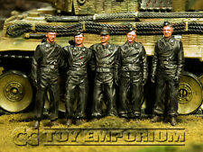 Custom Built & Weathered 1:35 WWII Michael Wittmann's Tiger 1 Ace Crew (5)
