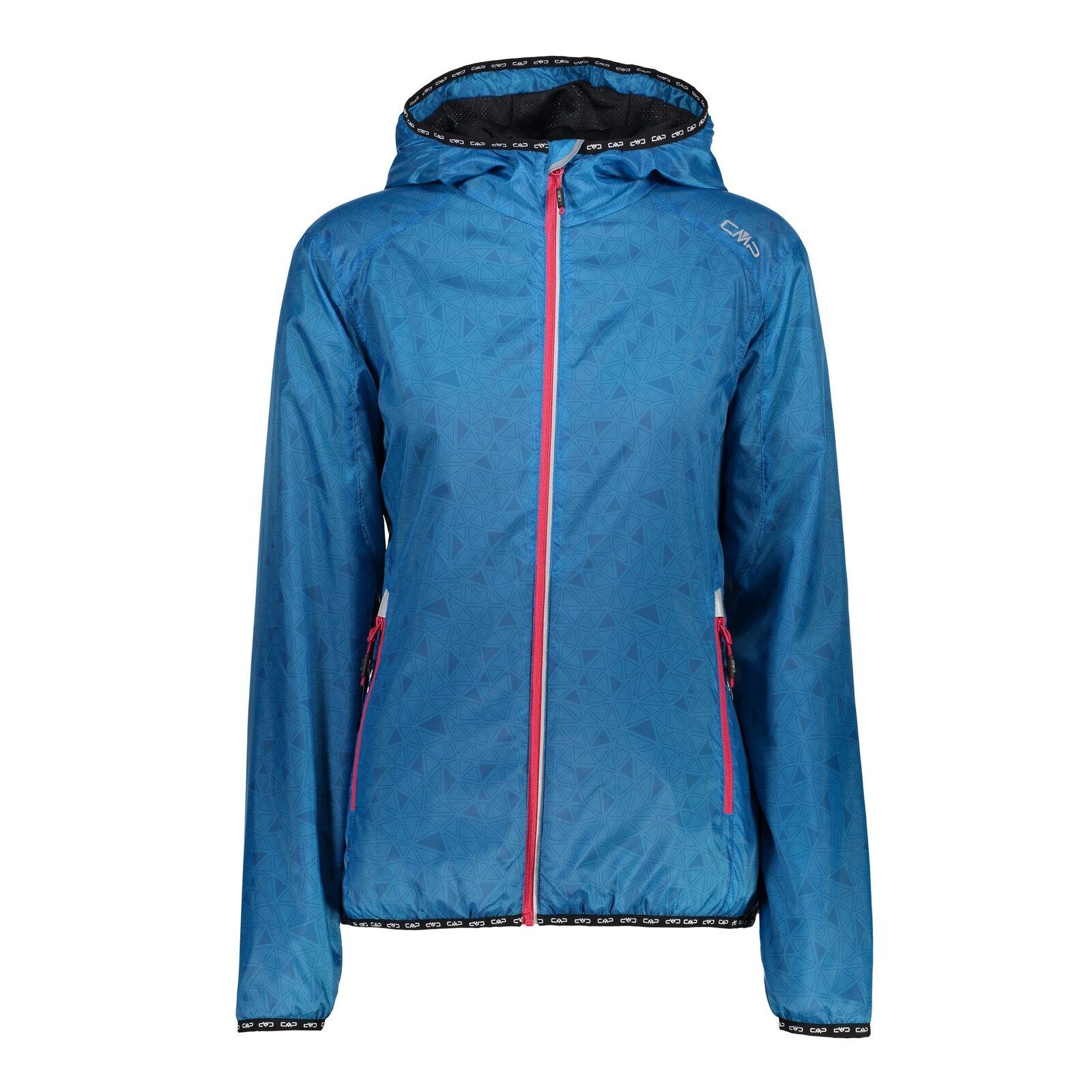 CMP Funktionsjacke Funktionsjacke Funktionsjacke Jacke WOMAN JACKET WARM UP blau winddicht leicht 97d111
