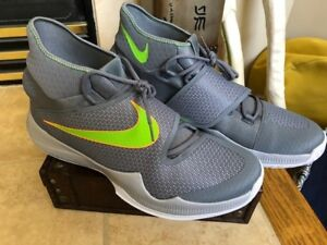 11f9a2afd020 NEW  Size 18 Men s NIKE Zoom HyperRev 2016 820224-030 GRAY GREEN ...