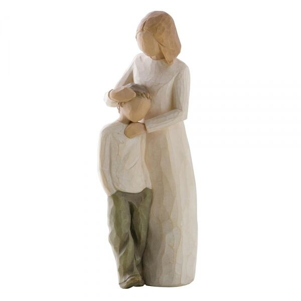 Willow Tree Figur   Mutter und Sohn     MOTHER AND SON    21 cm 4d6981