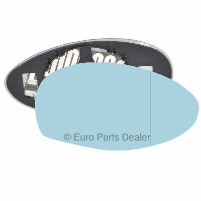 ALFA ROMEO GIULIETTA 159 MITO LEFT ASPHERICAL WING MIRROR GLASS HEATED BLUE