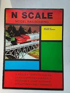 N-SCALE-MODEL-RAILROAD-BOOK-HERRIED-planning-wiring-structures-scenery-tools-etc