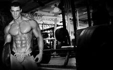 """044 Greg Plitt - American Fitness Model Actor 38""""x24"""" Poster"""