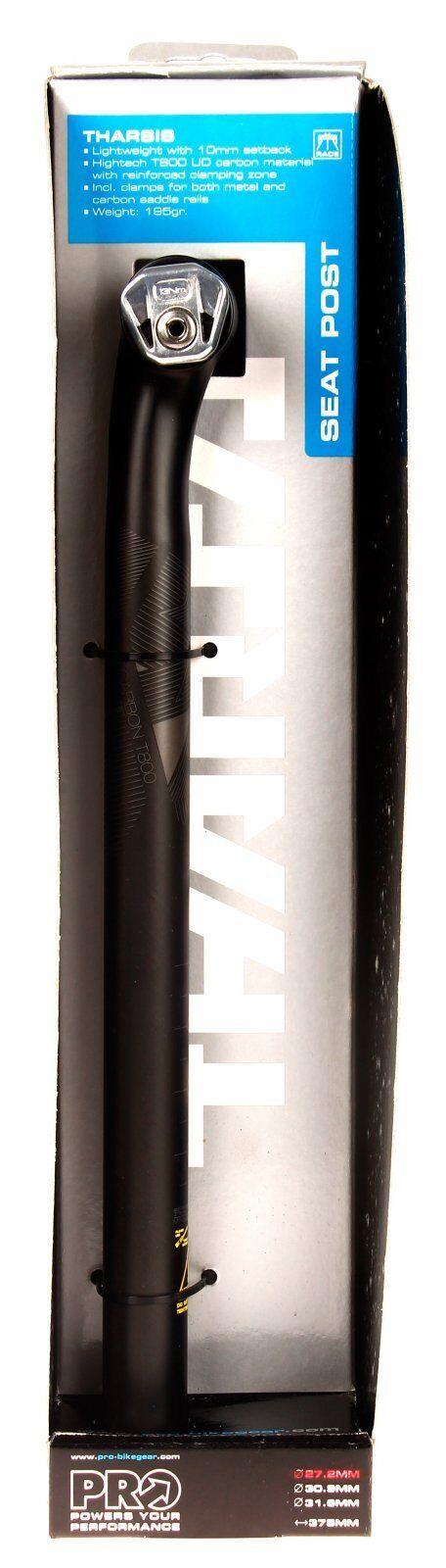 Shimano PRO Tharsis Carbon Seatpost 27.2 x375mm  NIB  high discount
