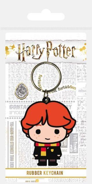 Harry Potter portachiavi caucciù Chibi Ron 5 cm portachiavi portachiavi 388335