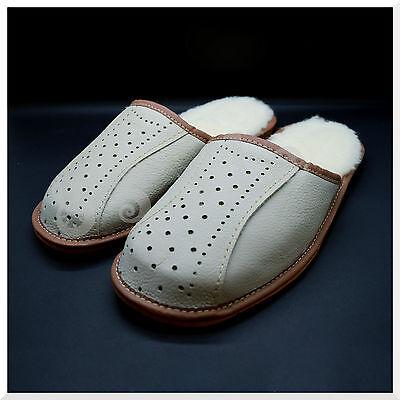 100% cuero genuino cálida Calidad Superior Zapatillas De Hombre 6,7,8, 9, 10, 11, 12 MZ2