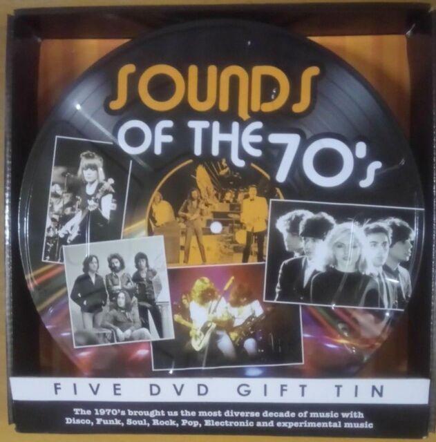 Sound of the 70's - 5 DVD Gift Tin NEW Free Postage