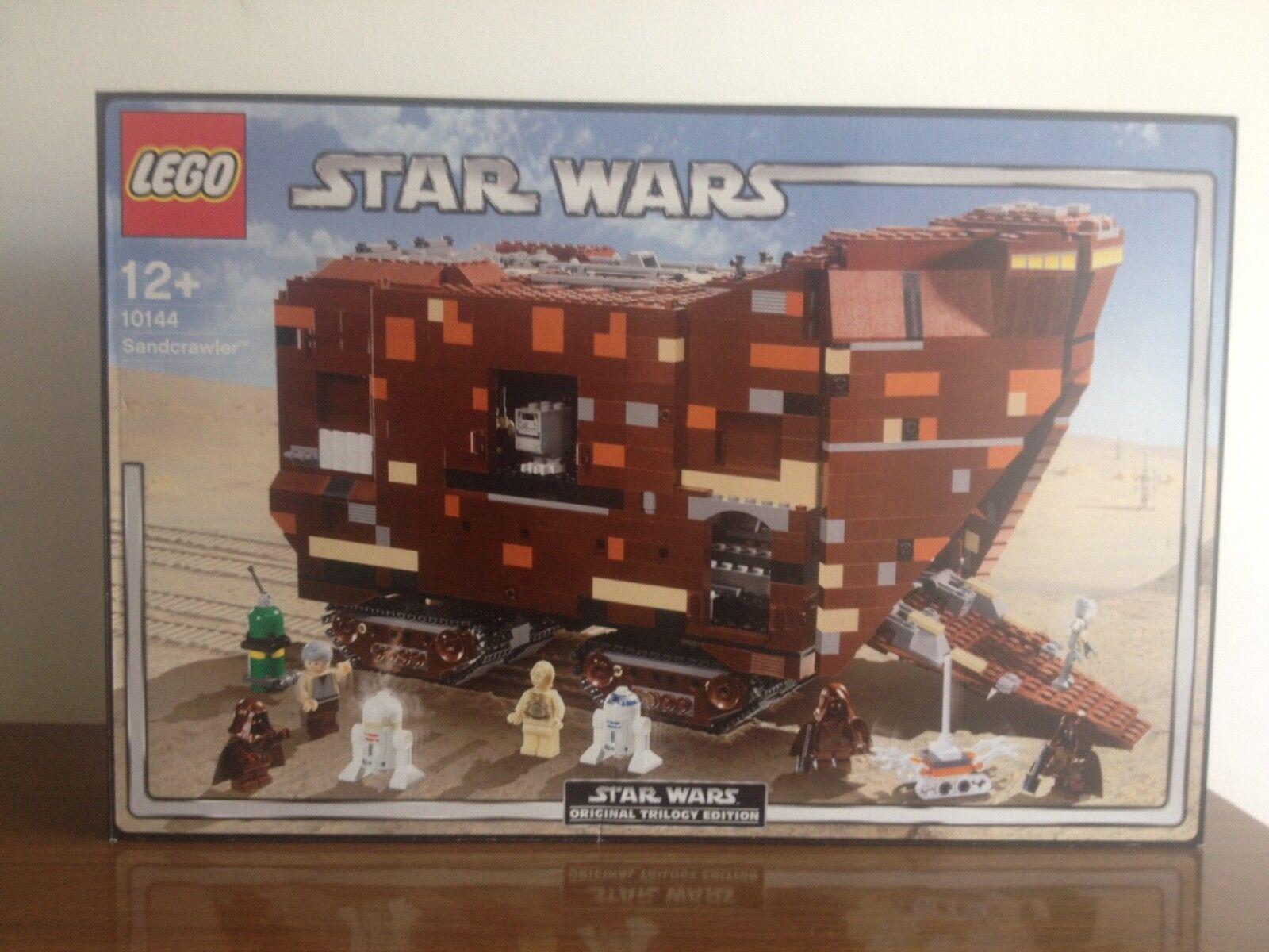 2005 LEGO estrella guerras 10144 UCS Secrawler ORIGINALE Triology  edizione Nuovo Scatola Originale JAWA  clienti prima reputazione prima